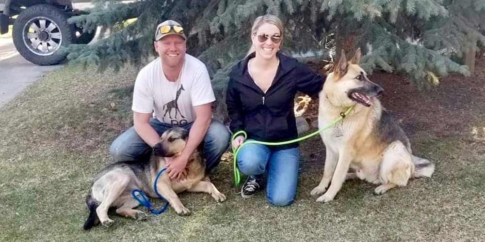 New Family with Tank and Charlie