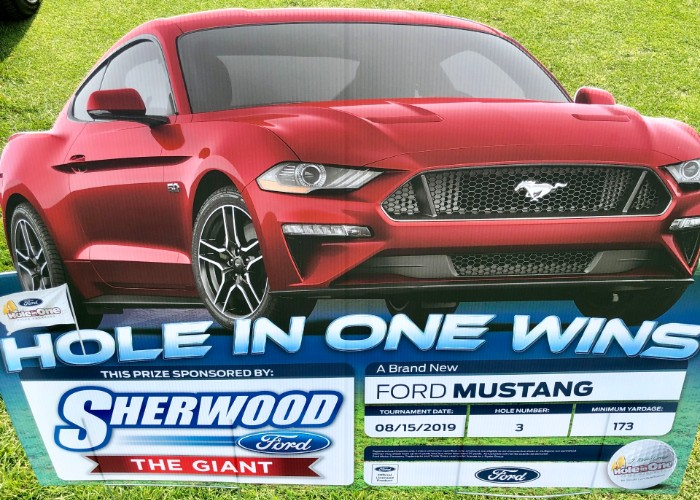 Sherwood Ford Hole In One Reward at Frontline Golf Classic