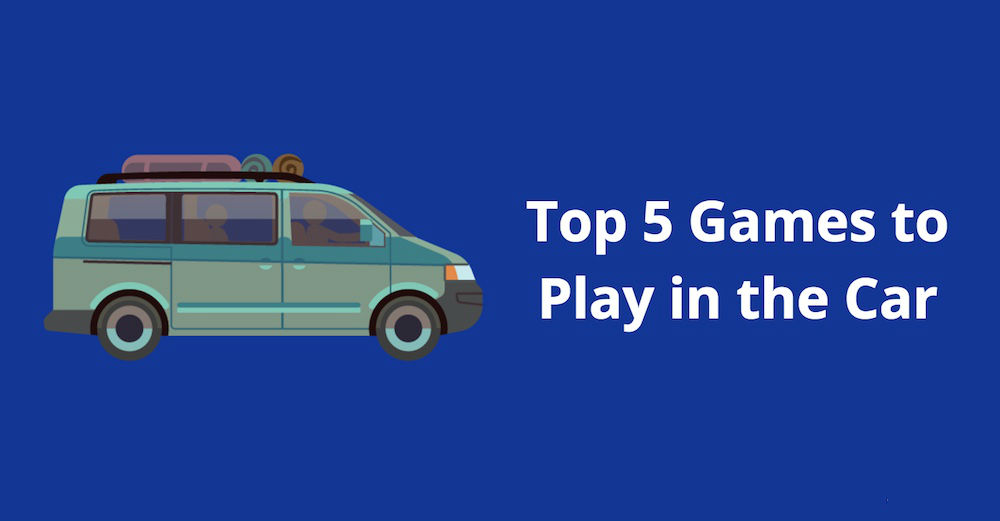 games to play in the car during road trips - family traveling in van