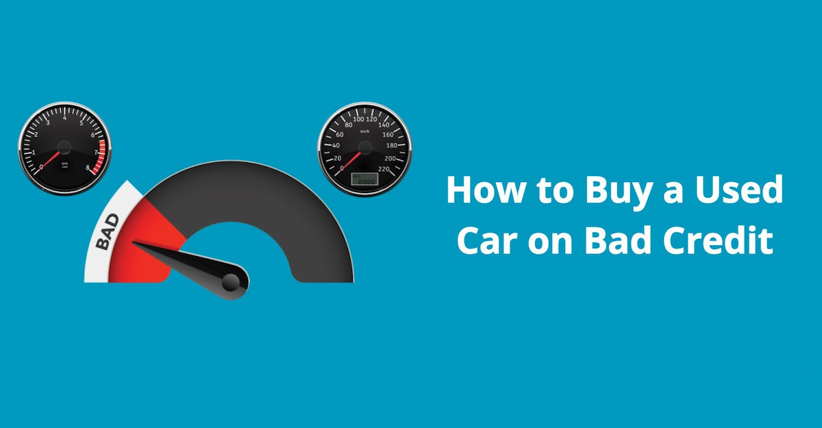 buying a used car on bad credit - buy here pay here