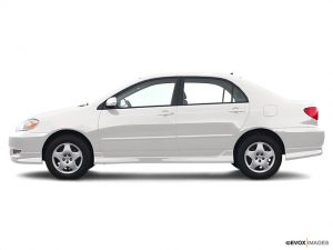white Toyota Corolla CE - best pre-owned car