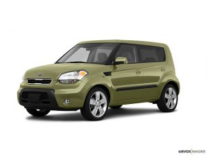 Green 2010 Kia Soul - best pre-owned car