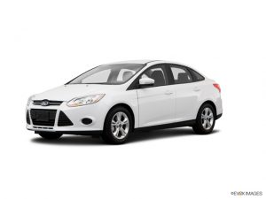 White 2014 Ford Focus SE - best pre-owned car