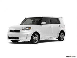 white 2008 Scion xB - best pre-owned vehicle