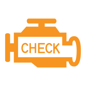 check engine - car warning light
