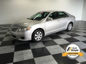 Silver 2011 Toyota Camry SE - best pre-owned car