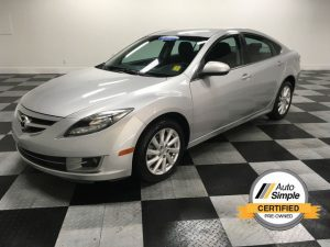 Silver 2012 Mazda 6 i Touring - best pre-owned vehicles