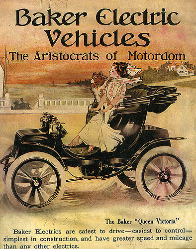 William Taft – Baker Electric Runabout