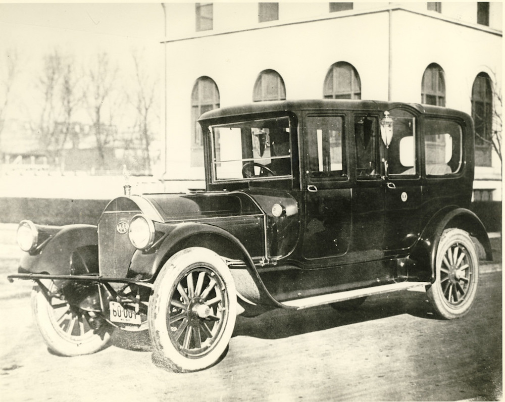 Woodrow Wilsons's Pierce-Arrow Motor Car