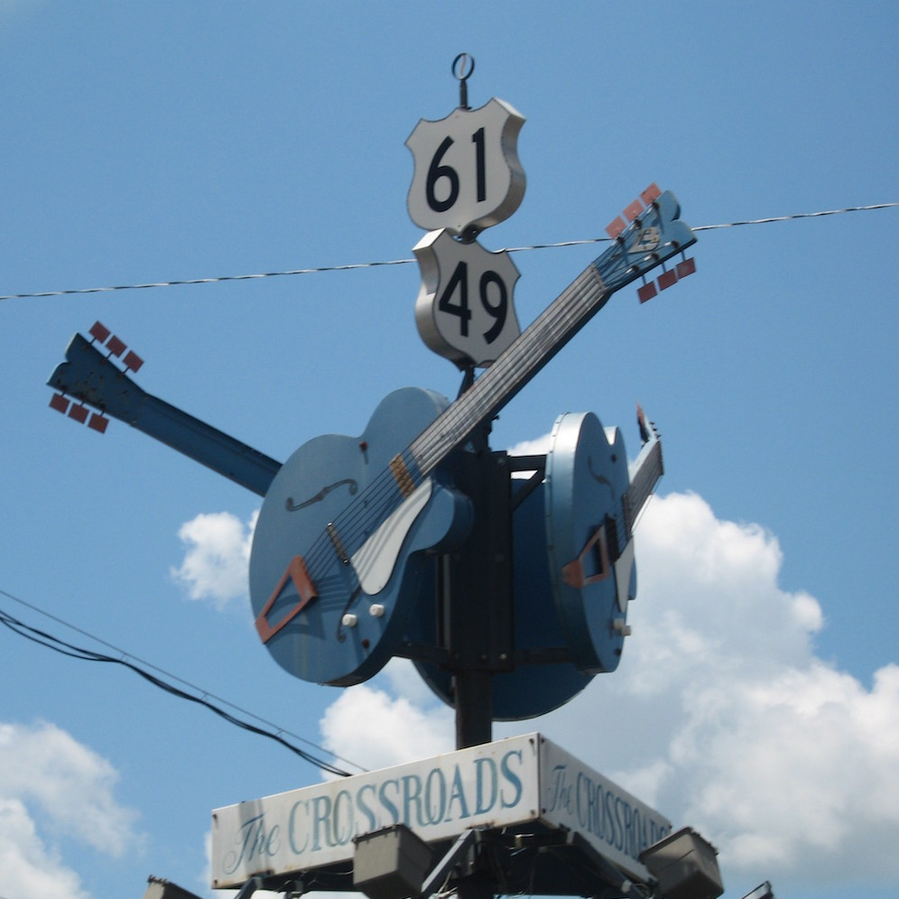 The Devil's Crossroads at U.S. 61 and U.S. 49
