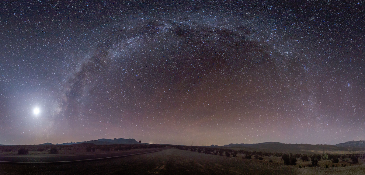 Big Bend National Park Night Sky by Jesse Sewell