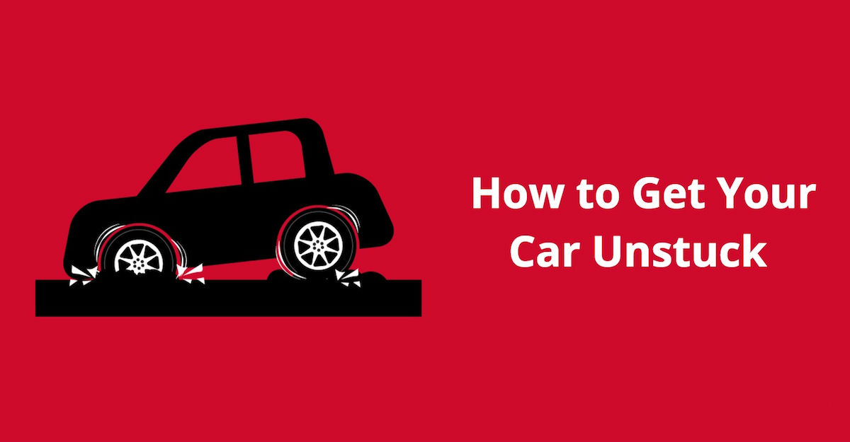 How to Get Your Car Unstuck from Mud, Sand, and Snow
