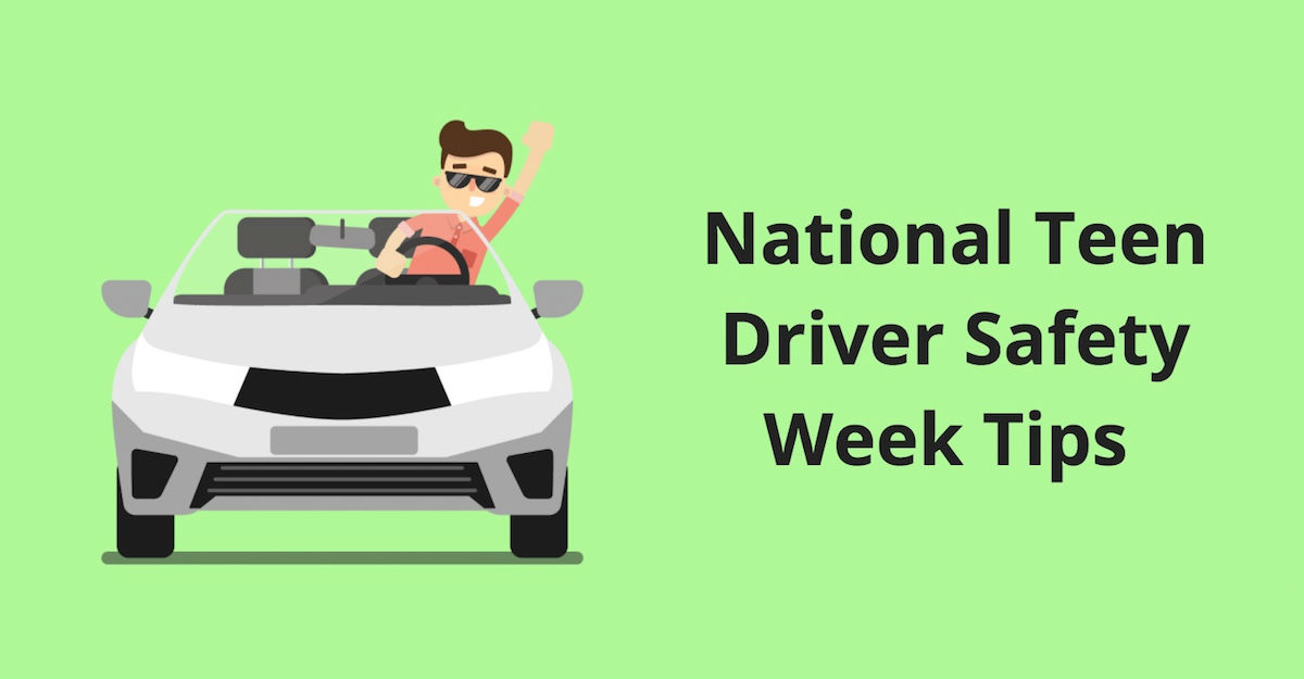 Teenager Driving Tips for National Teen Driver Safety Week
