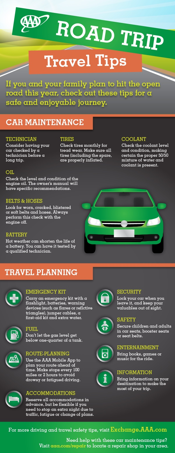 Road Trip Holiday Travel Safety Tips
