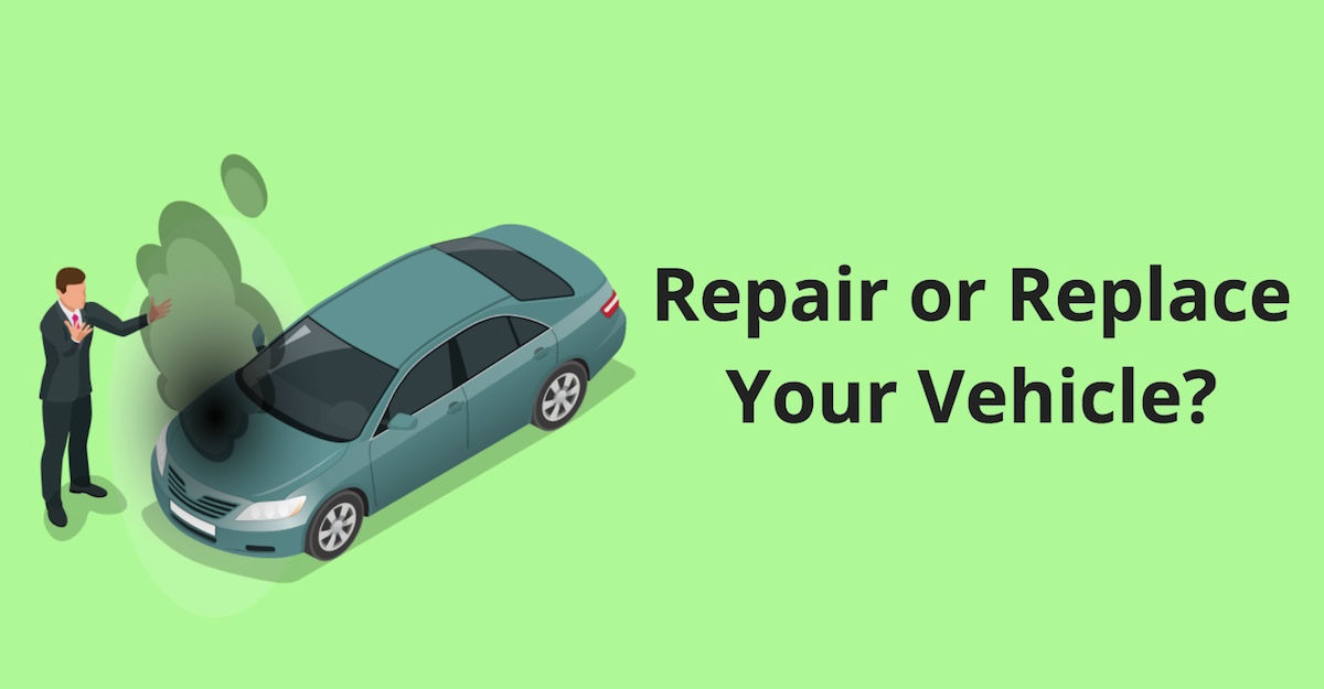 Repair or Replace Vehicle - Fix, Sell, or Trade-In Car