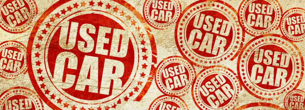 used car badges