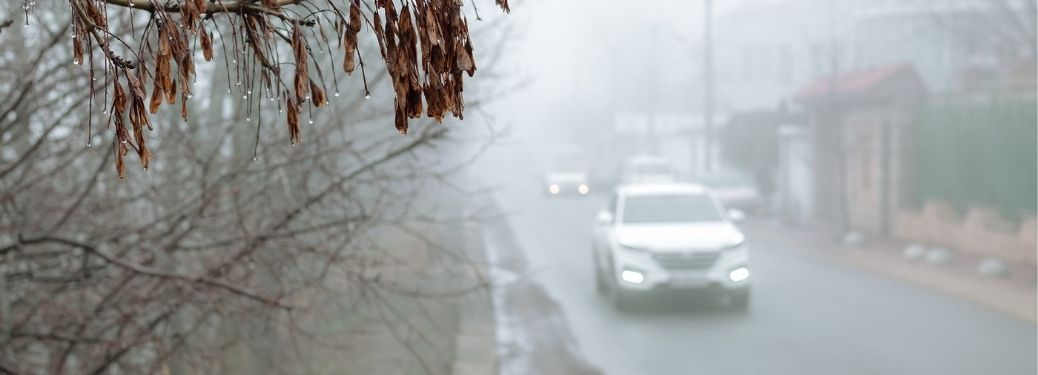 How can I prevent my car from fogging up?