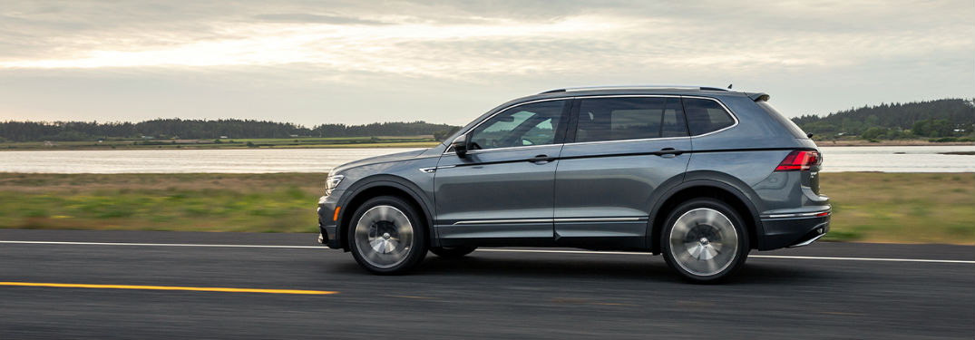 What safety technology does the 2020 Volkswagen Tiguan offer?