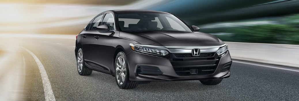 2019 Honda Accord on the highway