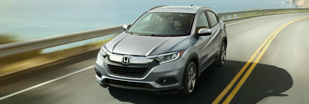 2019 Honda HR-V on the go