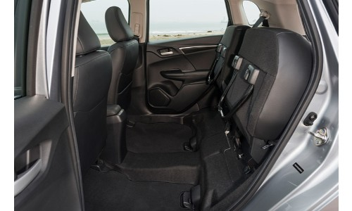 2019 Honda Fit rear seats