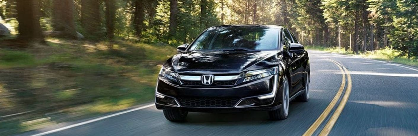 Does Honda have a fuel-cell vehicle?