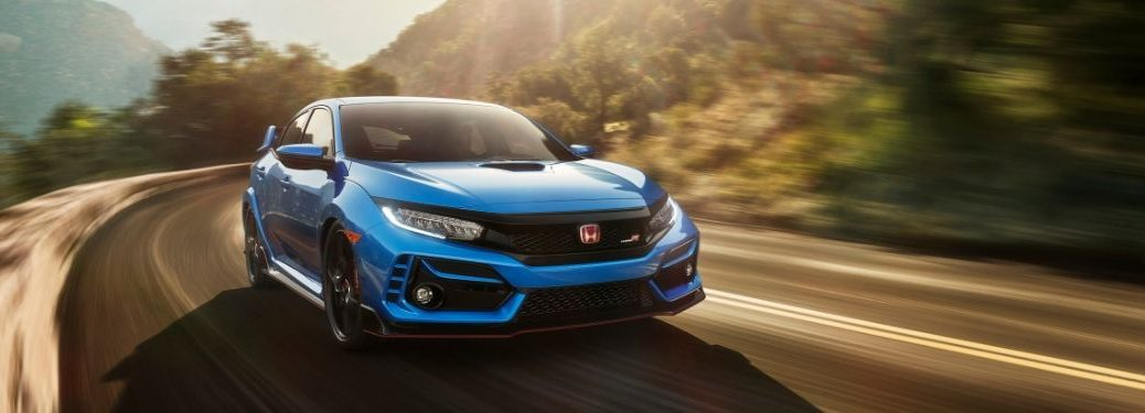 2020 Honda Civic Type R from front