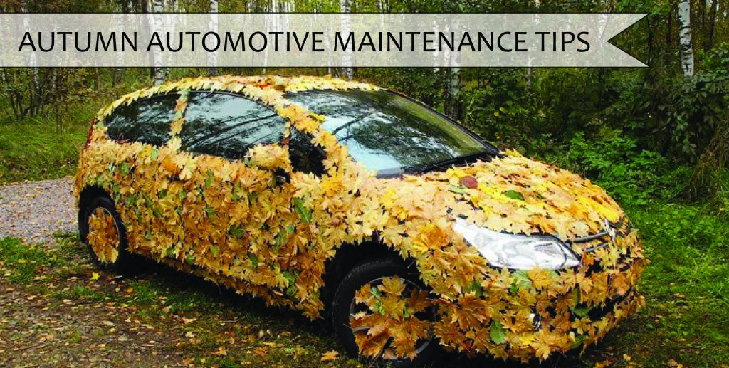 AUTUMN VEHICLE MAINTENANCE