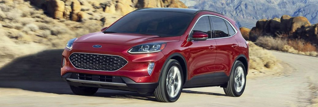 2020 Ford Escape on the road