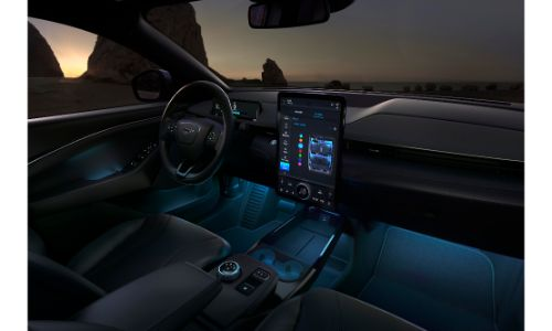 2021 Ford Mustang Mach-E interior view
