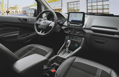 2020 Ford EcoSport interior front row dashboard area