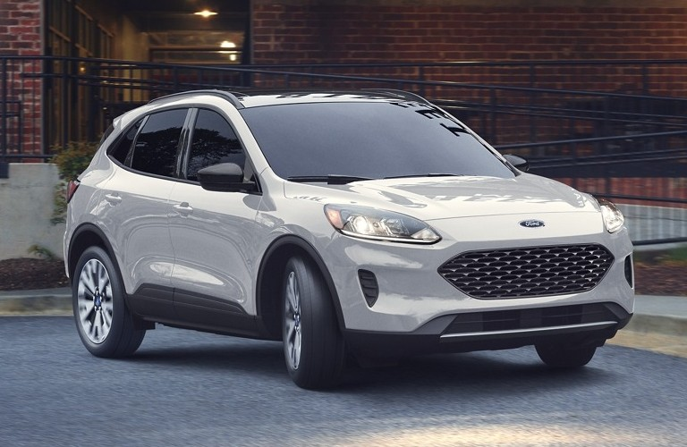 A re-designed gray 2020 Ford Escape, likely similar to a carry-over 2021 Ford Escape model.