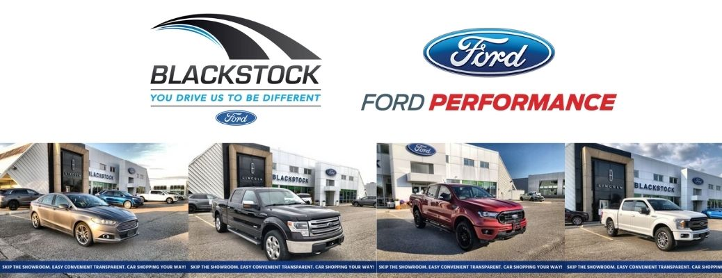 View of the used vehicles available at Blackstock Ford