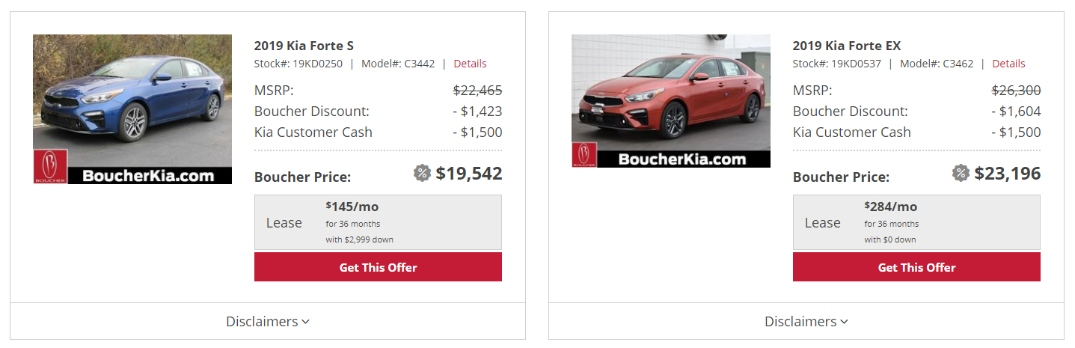 kia lease and financing offers