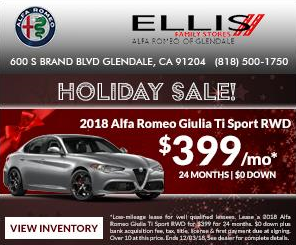 holiday car sale ad