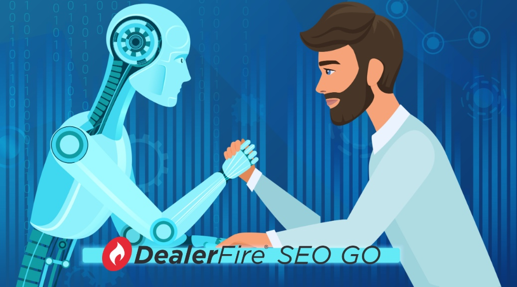 dealerfire seo go with human arm wrestling a robot