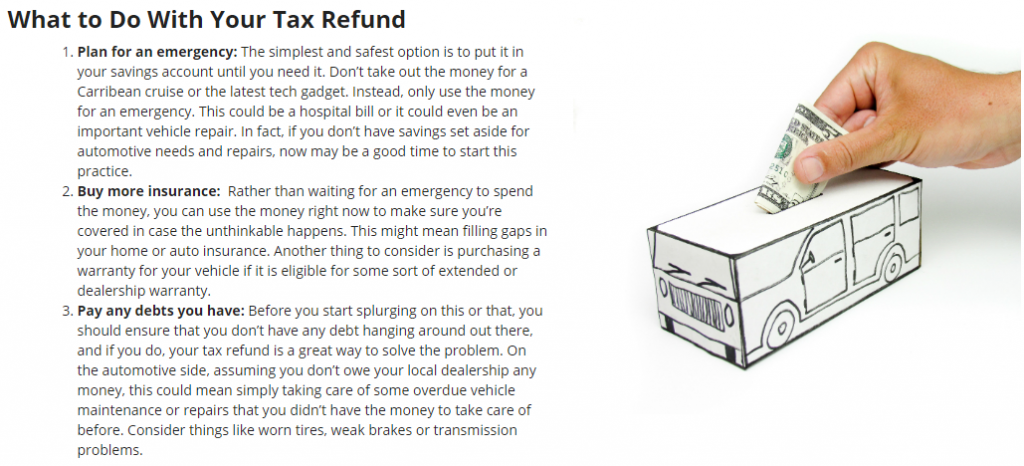 tax refund blog