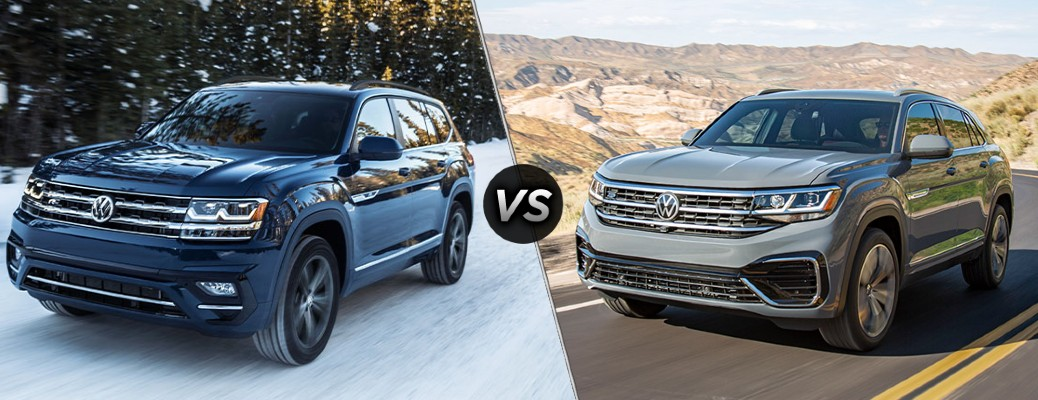 What Are the Differences Between the 2020 VW Atlas and the 2020 VW Atlas Cross Sport?