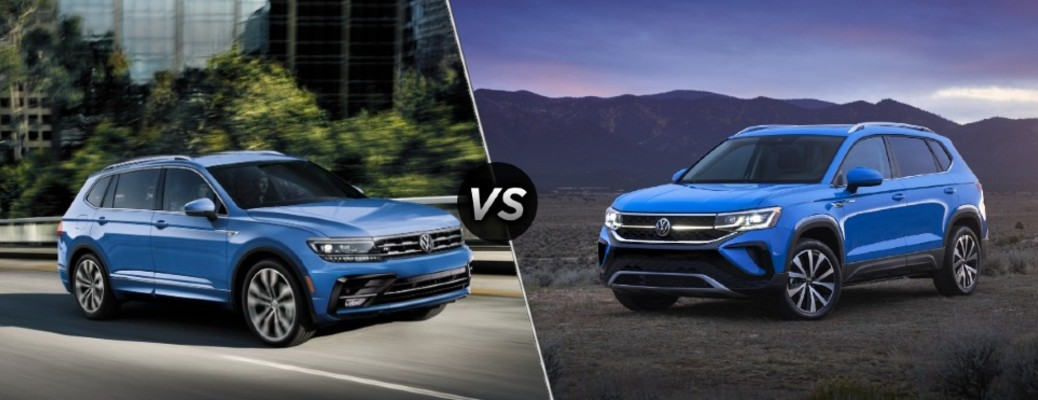 How Does the Volkswagen Taos Compare to the Volkswagen Tiguan?