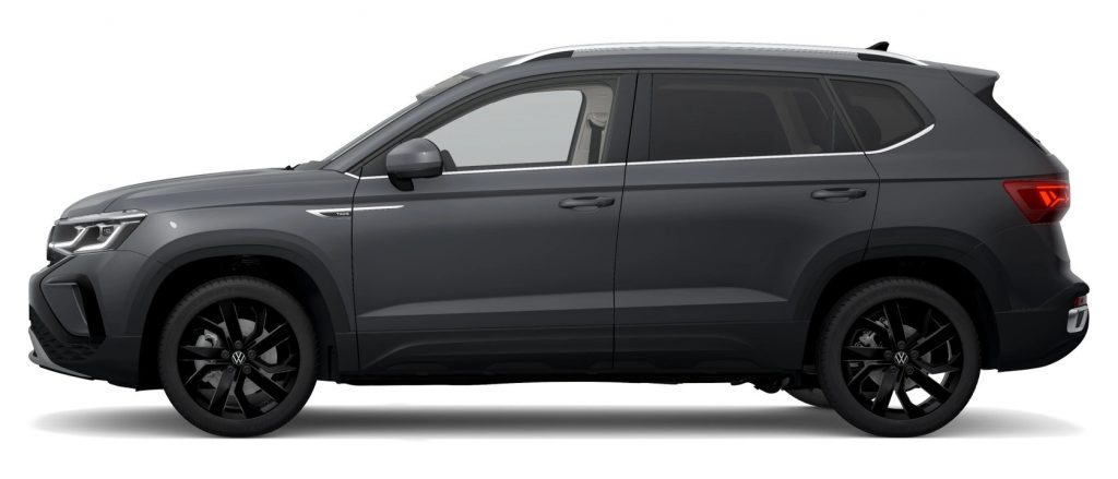 2022 VW Taos in Pure Gray color