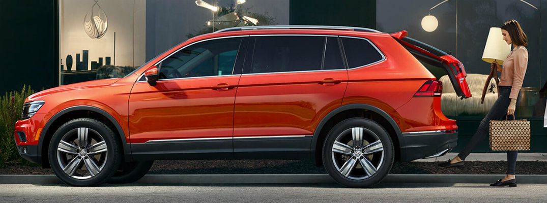 How much can you fit in the new Volkswagen Tiguan?