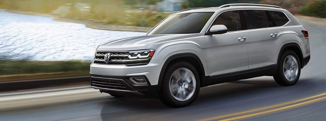 How much can be stored inside the 2019 Volkswagen Atlas?