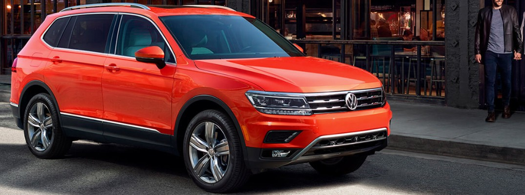 Exterior Color Options for the 2019 Volkswagen Tiguan