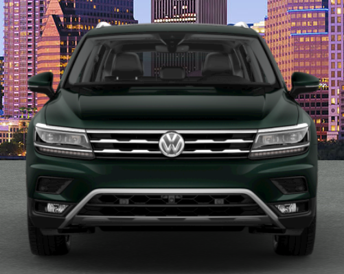 2019 VW Tiguan in Dark Moss Green Metallic