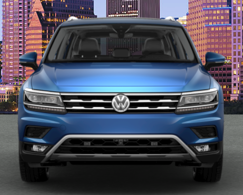 2019 VW Tiguan in Silk Blue Metallic