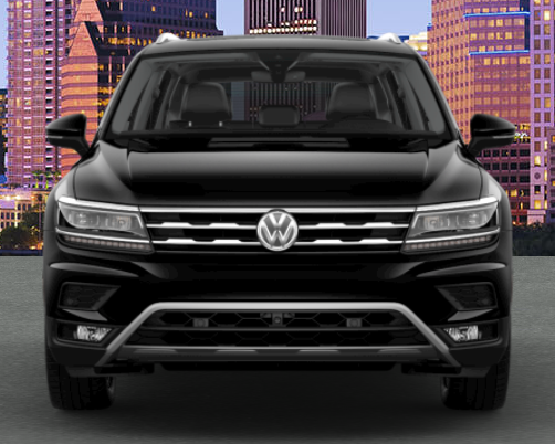 2019 VW Tiguan in Deep Black Pearl