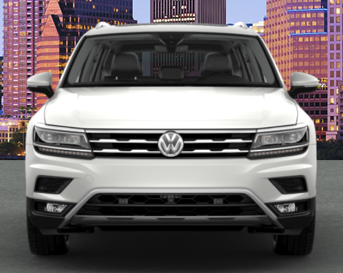 2019 VW Tiguan in Pure White