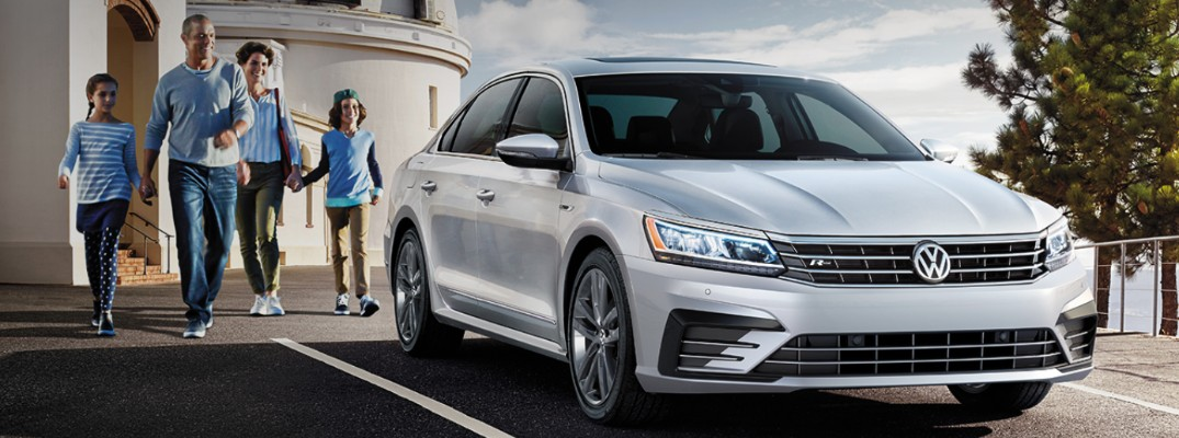 What are your exterior color options for the 2019 Passat?