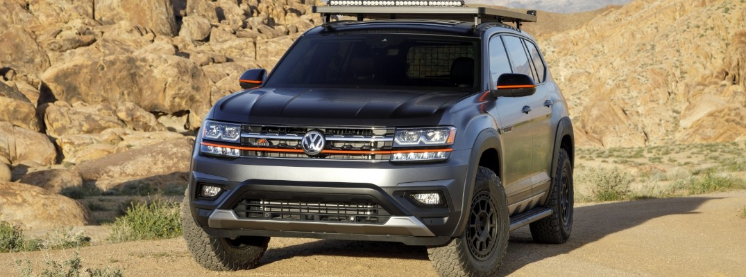 What is the Volkswagen Atlas Basecamp concept?