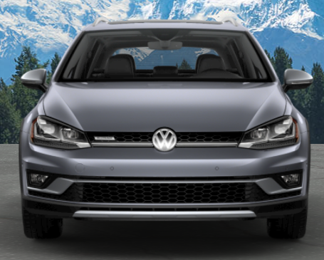 2019 Volkswagen Golf Alltrack in Platinum Gray Metallic